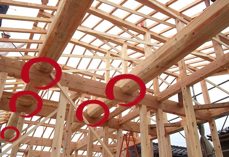 マルタカハウス自慢の一本物 丸太(長尺材)|丸高木材マルタカハウスの家